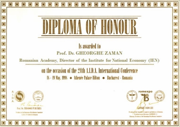 Honorary Member of RDC, Prof. Dr. GHEORGHE ZAMAN, Romanian Academy, Director IEN (600x424)