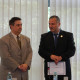Costel Stanciu, Diploma of Honorary Member of the Romanian Distribution Committee handed by Theodor Purcarea