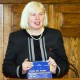 """6. Professor Mihaela LUȚAȘ, presenting AFER volume Pages from the Romanian Economic Higher Education History, 1843-2013"""""""