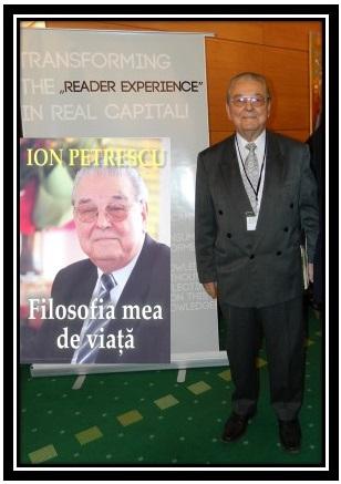 Marele Profesor ION PETRESCU, FILOSOFIA MEA DE VIATA