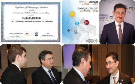 Bogdan M. CHIRIŢOIU, Diploma of Honorary Member, Romanian Distribution Committee